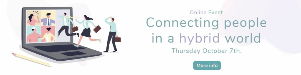 Connecting people in a hybrid world event