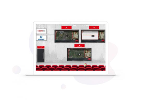 digital exhibitors' event - auditorium