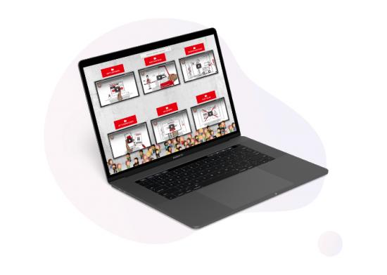 digital exhibitors' event - video library